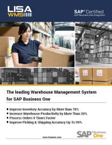 LISA warehouse management system